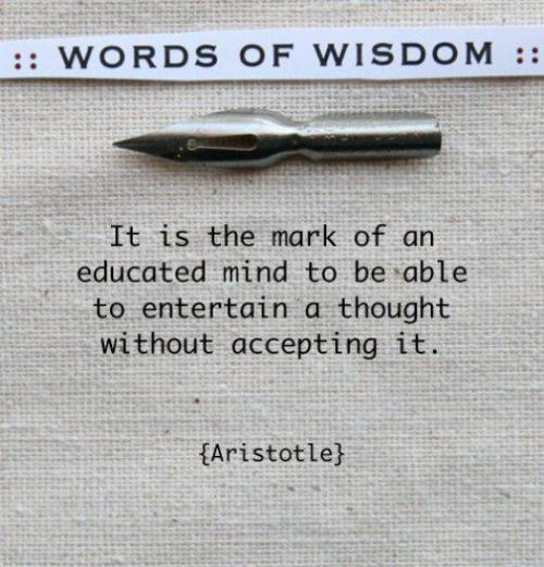 TheMarkofanEducatedMindAristotle